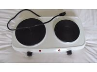Electric Double Hot Plate | Excellent Condition | Used Once