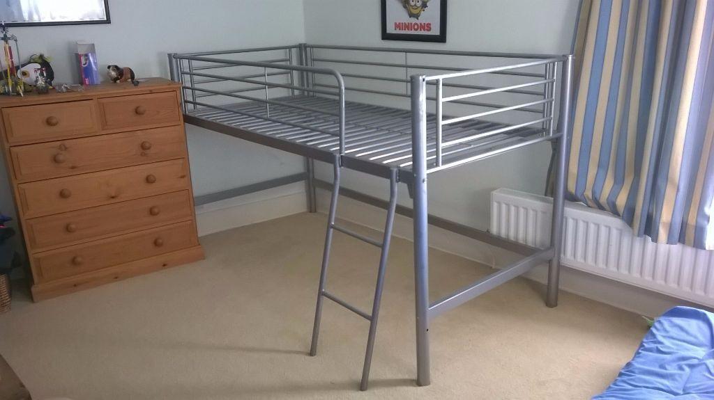 NEXT cabin bed metal frame single bed mid sleeper | in Faversham ...