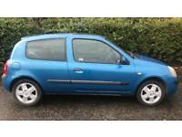 RENAULT CLIO DYNAMIQUE 16V 1.1L (2004) year mot cheap car