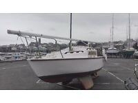 Caprice 19' sailing yacht