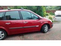 Renault Grand Scenic 7 seats, recent MOT, full history, excellent condition