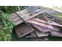 wood for wood burner /bonfire. free for collection.