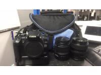 Canon EOS 350 D Camera Bundle