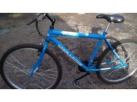 LADIES OR GENTS ADULT MOUNTAIN BIKE has 18 INCH FRAME 26 INCH ALLOY WHEELS