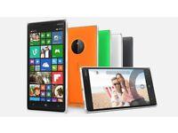 NOKIA LUMIA 830 8GB unlock / lock / LCD (uk phones)
