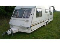 Jubilee Statesman Twin Axle Caravan.