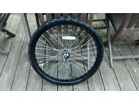 "mountain bike 26"" front Wheel"