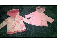 Baby girls bundle, coats river island tops. Shoes & head bands ect