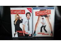 CHUCK series 1 and 2