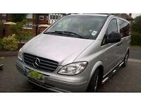 MERCEDES BENZ VITO 3.0 SILVER - VGC WITH ALLOYS AND WINBOR RAILS AUTO ~ONO