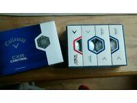 Callaway golf balls. 1 dozen boxed and new