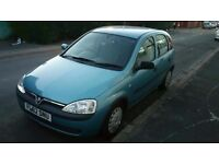 CORSA 1.2 5 DOORS LONG MOT 05/17 READY TO GO. ONLY 650