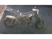 midi moto / mini drag bike for parts, spares, repairs