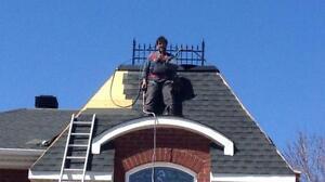 Pour une Réparation de toiture ou une Réfection