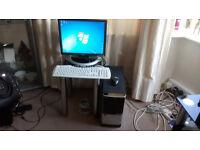 Acer T180 Computer with 17in Dell Monitor Keyboard & Mouse. £80.00 Or Good Offer