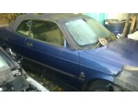Blue Saab (2001) 51 Plate -BREAKING FOR SPARES,MANY PARTS AVAILABLE..