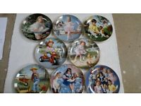 CHILDREN OF THE WEEK DECORATIVE PLATES