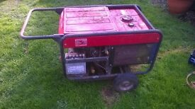 Honda ES5500 petrol generator