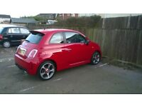 Abarth 500 very low miles 27250, excellent condition. Fast, fun, reliable.