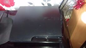 Sony Playstation 3 slim 160gb black console