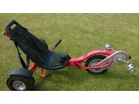 Triker Go kart in Red £120 or near offer