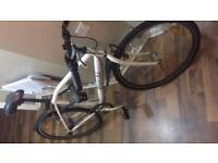 Milano bianchi hybrid bike