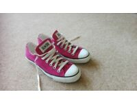 womens immaculate converse size 6
