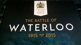 Waterloo 200th anniversary coin set
