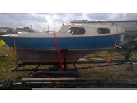 Boat for sale project + Trailer