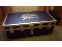 refurbished steamer trunk