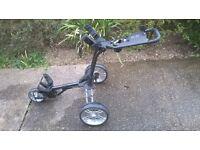 Stewart Golf Dream Machine - Three wheel golf push trolley