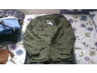 New Look Mens summer jacket size M