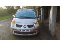 Renault Modus Privilege. For repair or spares. Alloy wheels!