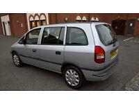 2002 Vauxhall Zafira Club 7 SEATER