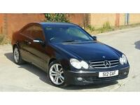 MERCEDES CLK 220CDI AVANGARGE VERY LOW MILEAGE