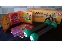 Zumba Fitness Kit with Toning Sticks