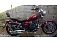 Sinnis Cruiser 125 1 year old excellent condition 500 miles on clock no MOT needed till 2018