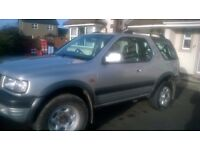OPEL/VAUXHALL FRONTERA SPORT 4x4 Jeep. Year 2000 ONLY £335 o.n.o