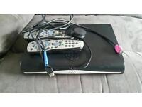Sky + hd box and 2 x remotes