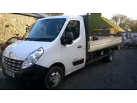 Renault Master Van LWB Alloy Dropside Twin Wheel 45000 miles Mot July 17 3 months Warranty&Recovery