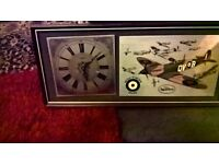 BATTLE OF BRITAIN 1939-1941 SPITFIRE CLOCK