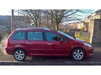 Peugeot 307 SW 1.6 2006 (06)**Diesel**Estate**Very Economical car for only £1395