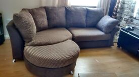 Can deliver beautiful curved corner Dfs sofa in excellent condituin
