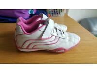 Girls lonsdale trainers