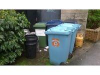240 litre size wheelie bin hire 1 uplift weekly