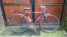 Vintage / retro raleigh hustler hybrid Road bike