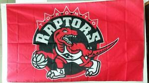 Toronto Raptors Flag - 5' X 3' Large