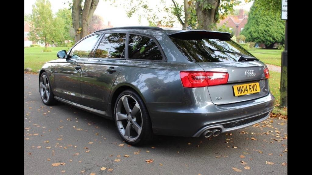 2014 AUDI A6 AVANT 2.0 TDI S LINE BLACK EDITION 175BHP 8 SPEED AUTO ESTATE 1 OWNER FULLY LOADED
