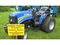 Solis 26 Compact Tractor With Mitsubishi Engine. Power Steering. 4 w/d. Mitsubishi 3 cyl engine
