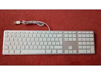 Apple USB Keyboard A1243 UK Layout Clean Like New Condition